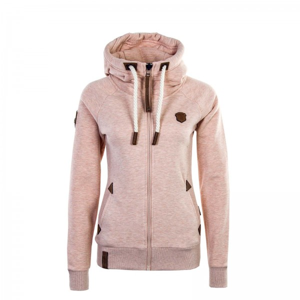 Naketano Wmn Sweatjkt Blonder Engel Pink