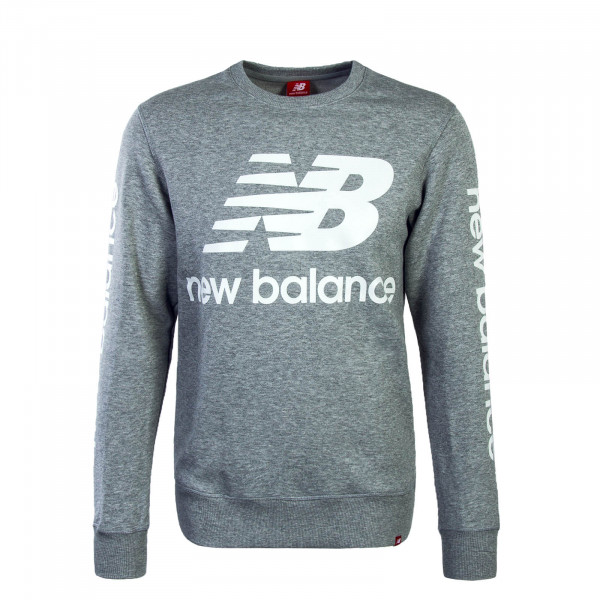New Balance Sweat Logo Crew Grey