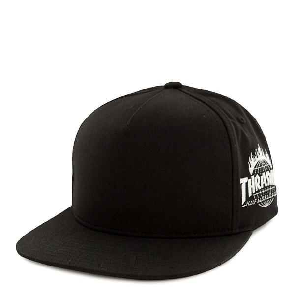 Huf X Thrasher Cap Snapback TDS Black