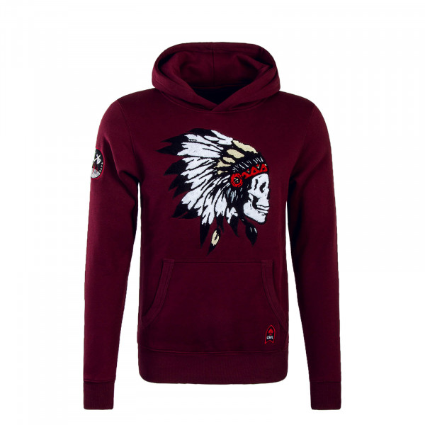 Cayler Hoody Patched Bordo
