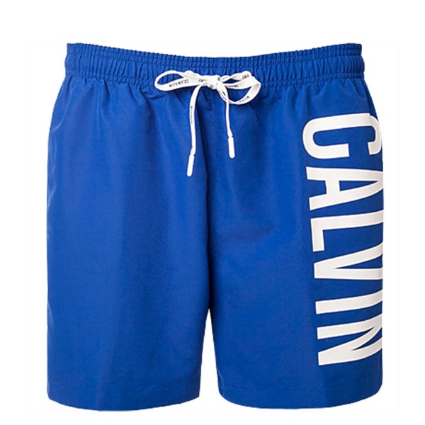 CK Boardshort Drawstring Blue White