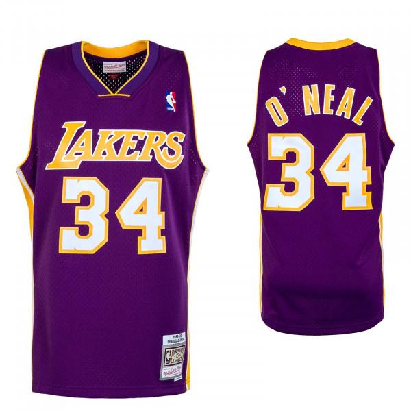 Herren Tank Top - M&N NBA Swingman Jersey LA Lakers - Purple