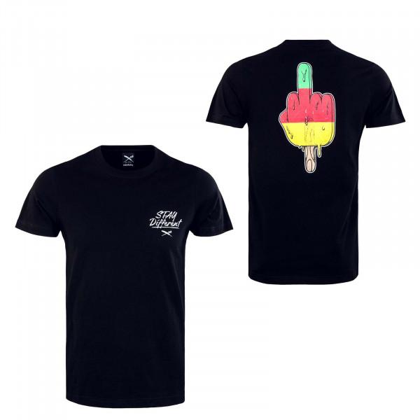 T-Shirt Big Bad Finger Black