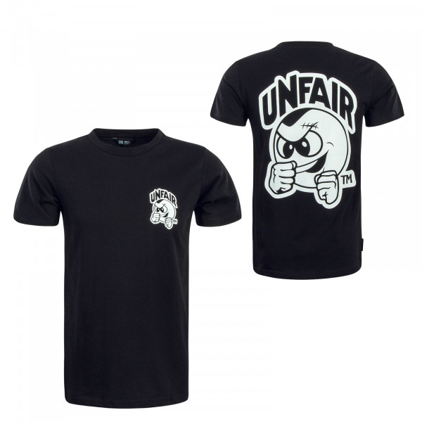 Herren T-Shirt Punchingball Black