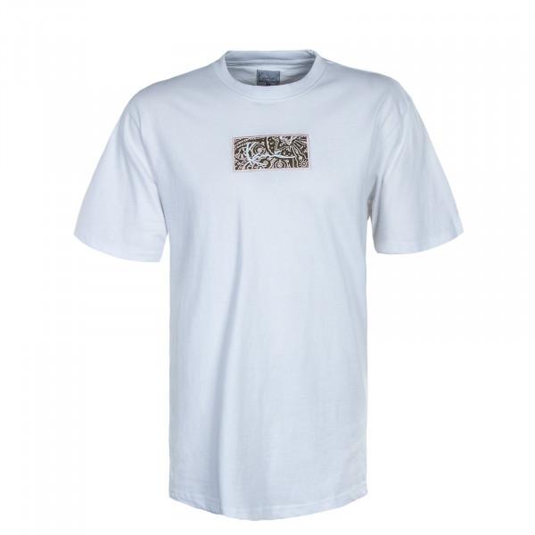 Herren T-Shirt - Small Signature Box - White
