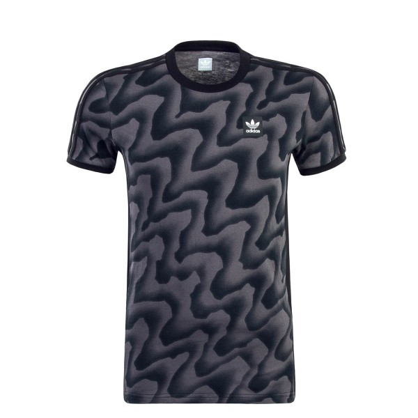Adidas SB TS Warp Tee Black Grey