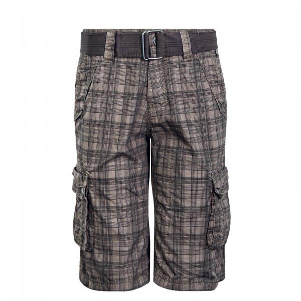 Herren Short 60315BZA Check Brown