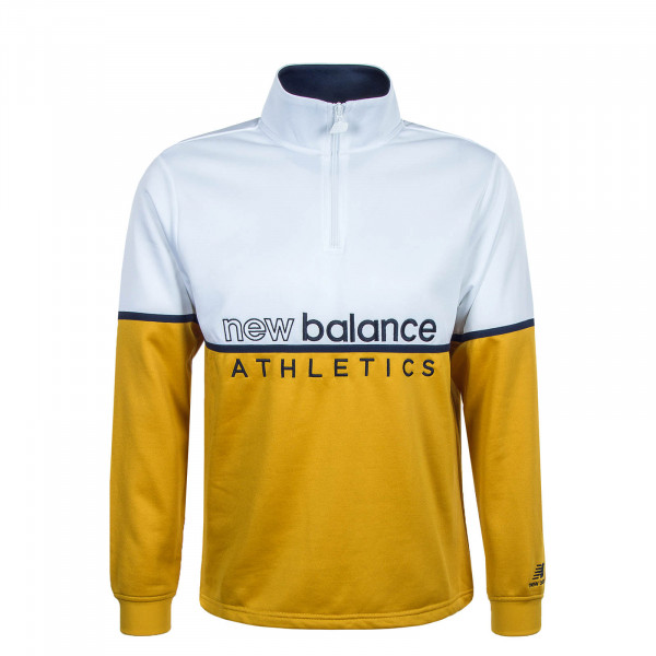 Herren Sweatshirt 1506 White Yellow
