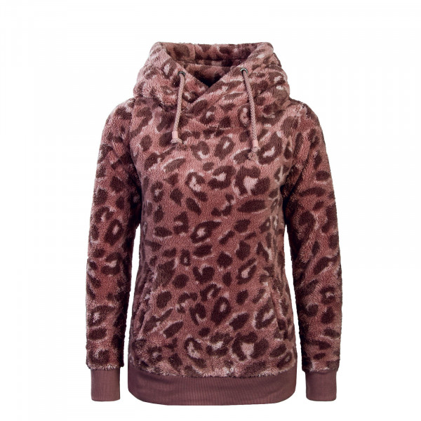 Damen Hoody Fleece 2024F Leo Rose