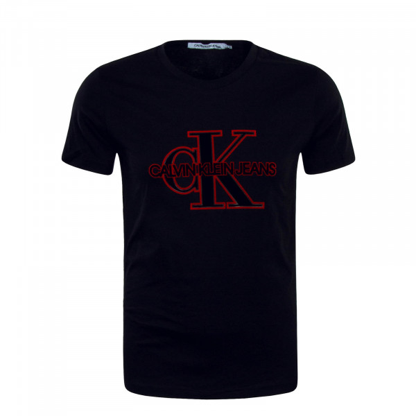 CK TS Monogram Front Black Red