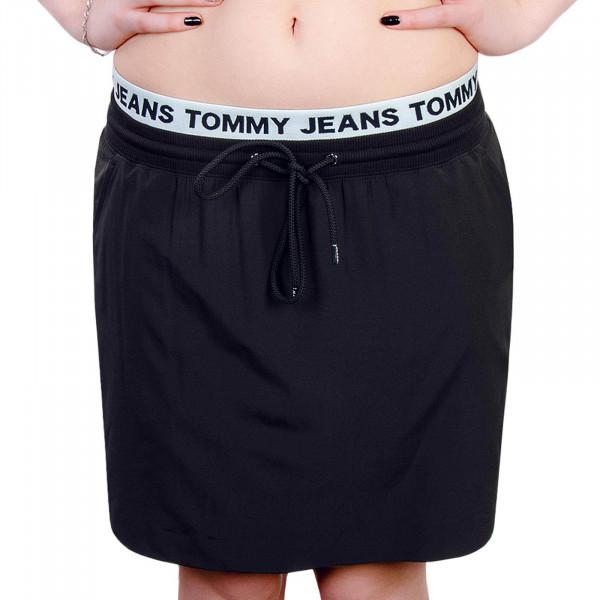 Damen Skirt TJW Logo Waist 4244 Black