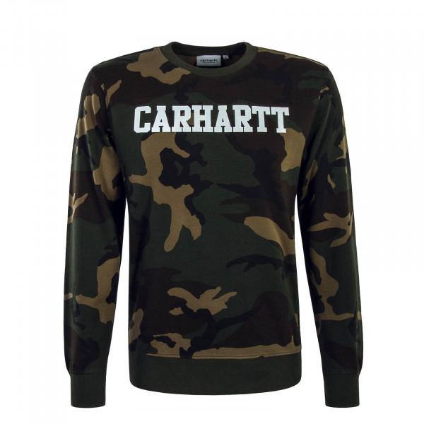 Herren Sweatshirt College 668 Camouflage
