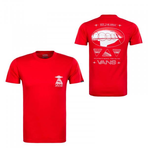 Herren T-Shirt - Area 66 High Risk - red