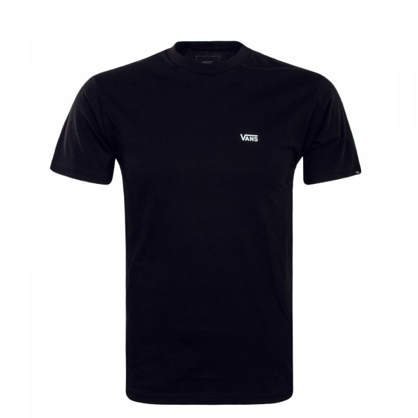 Vans TS Left Chest Logo Black