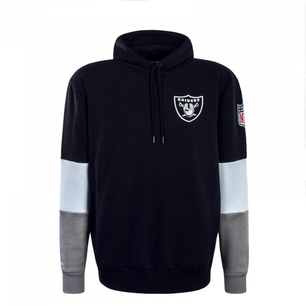 HerrenHoody Colour Block Oak Raiders Black