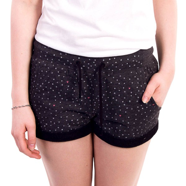 Ragwear Wmn Short Norah Dots Black
