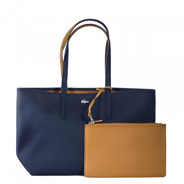 Lacoste Shopping Bag Peacoat Cashew