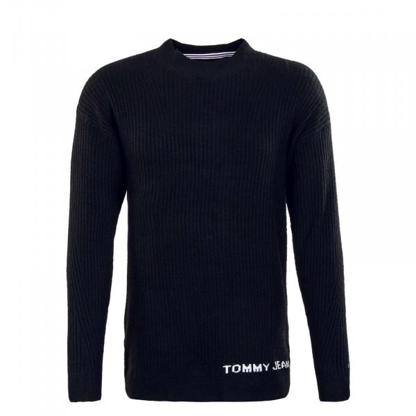 Herren Longsleeve - Lofty Turtleneck Knit - Black