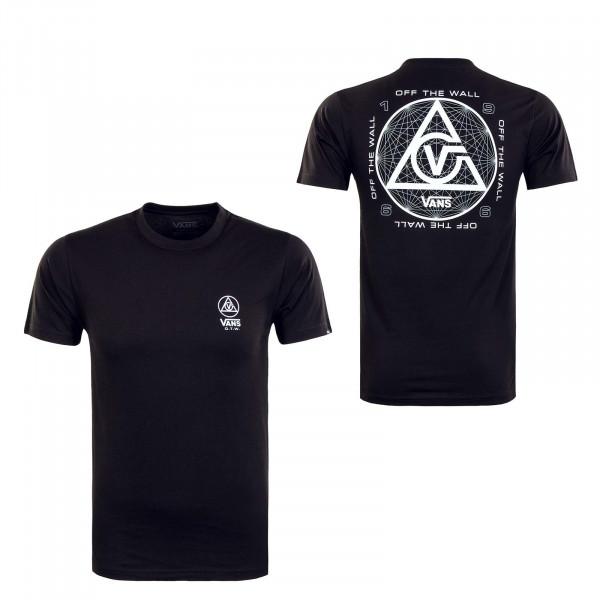 Herren T-Shirt - Three Points - Black