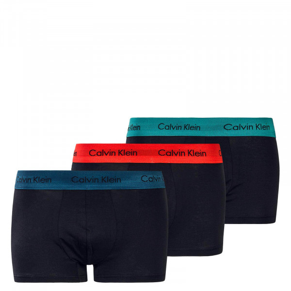 Herren Trunk 3er-Pack Low Rise Blue Red