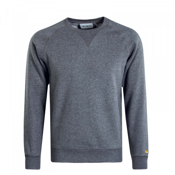 Herren Sweat Chase Grey Gold