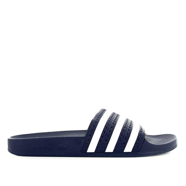 Adidas Adilette Navy White