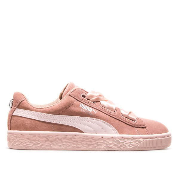 Puma Wmn Suede Heart Jewel Peach