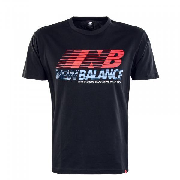 Herren T-Shirt MT03513 Essentials Speed AC Black