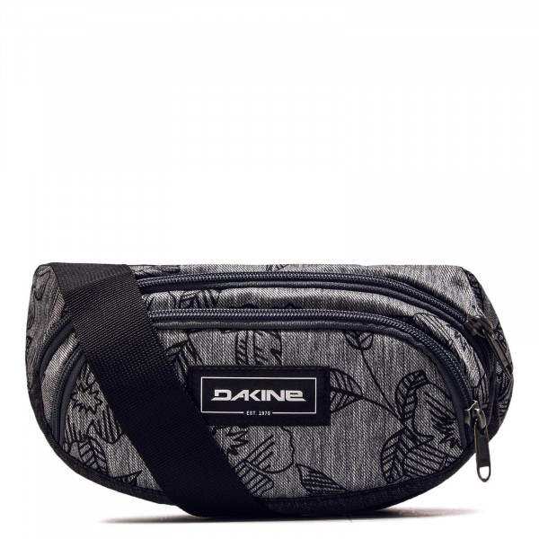 Hip Bag ACK Grey Black Flower