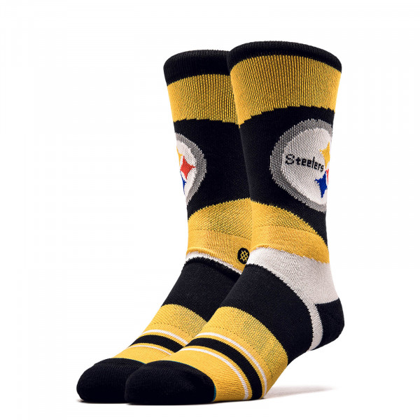 Unisex Socken NFL Steelers Yellow Black