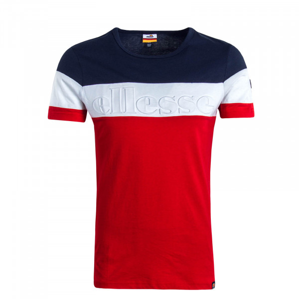 Herren T-Shirt Timavo Navy White Red