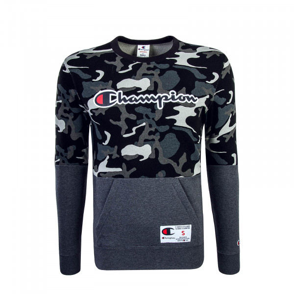Champion Sweat 211914 Camo Black Grey