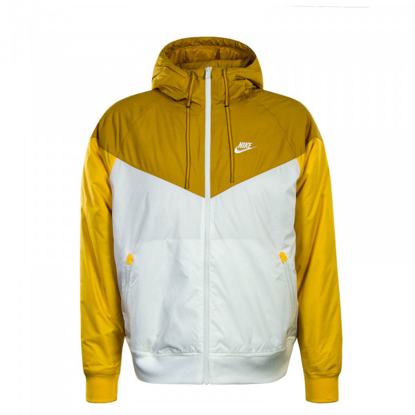Jacket Yellow White