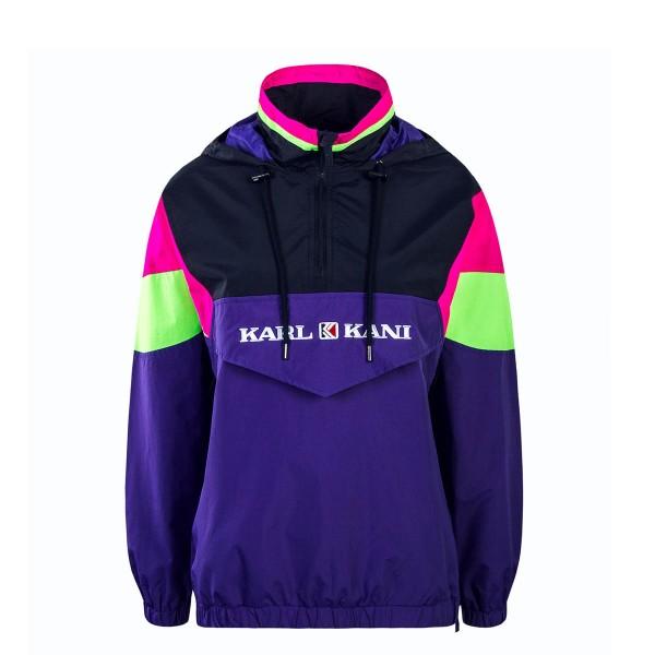 Kani Wmn Windbreaker Retro Block Purple