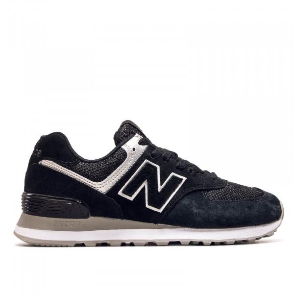 Damen Sneaker WL574EZ Black Grey Silver