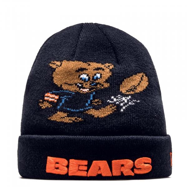 Kids Beanie Infant Bears Navy