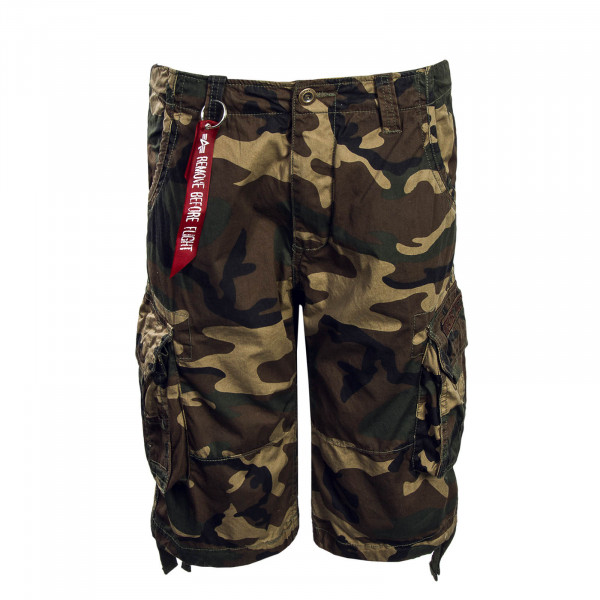 Herren Short Jet Woodland Camouflage 65