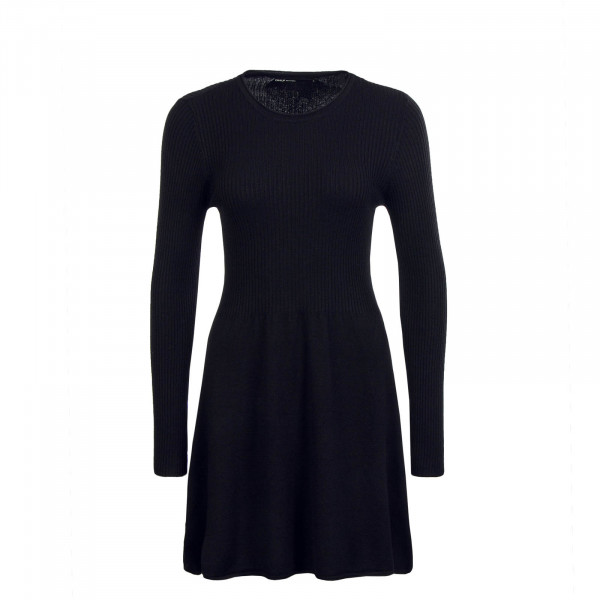 Dress Knit Alma LS Black