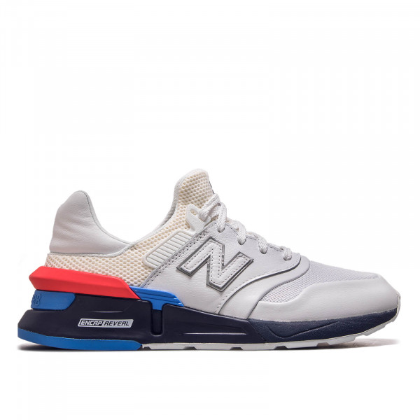 Herren Sneaker  MS997 HE White Blue Red