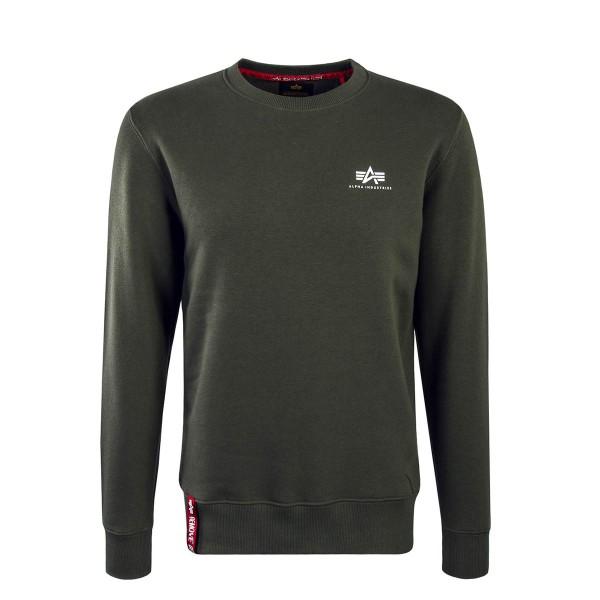 Herren Sweatshirt - Basic Small - Olive