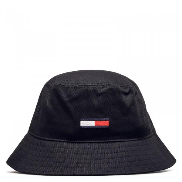 Hut  Flag Bucket Black