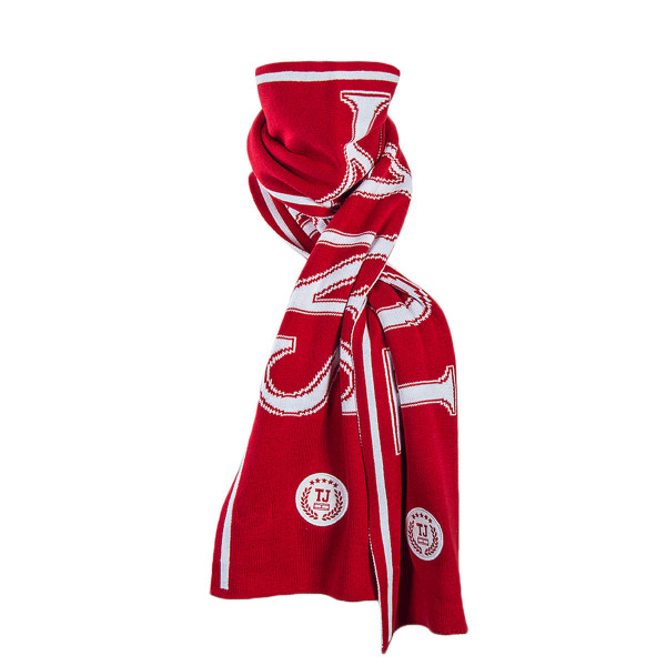 Tommy Scarf TJU College Red White