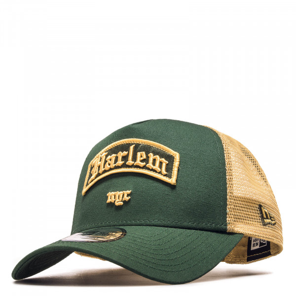 Cap Trucker Borough Harlem Green