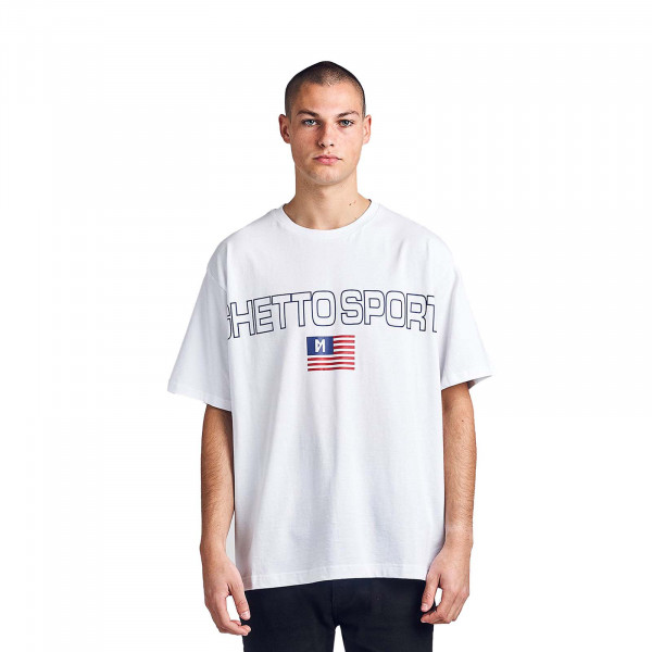 Herren T-Shirt Maskulin Frank White
