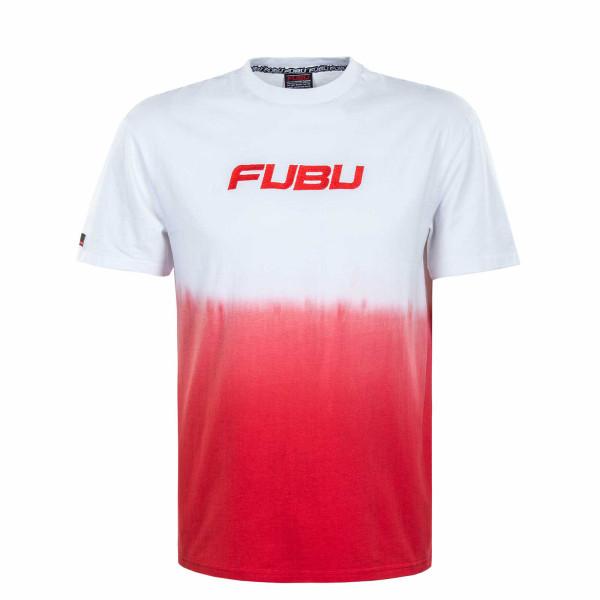 Herren T-Shirt - Corporate - Gradient White Red
