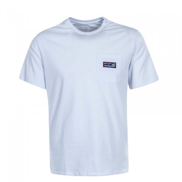 Herren T-Shirt Pocket Boardshort White