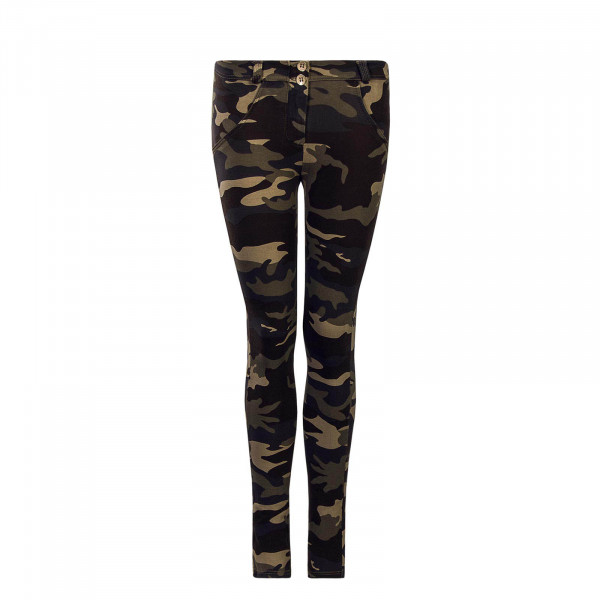 Damen Hose WR.UP® 1 RC007 M95 Camouflage - Regular Waist Skinny