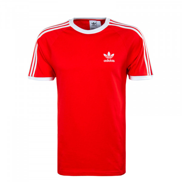 Herren T-Shirt - 3 Stripes Tee - Red