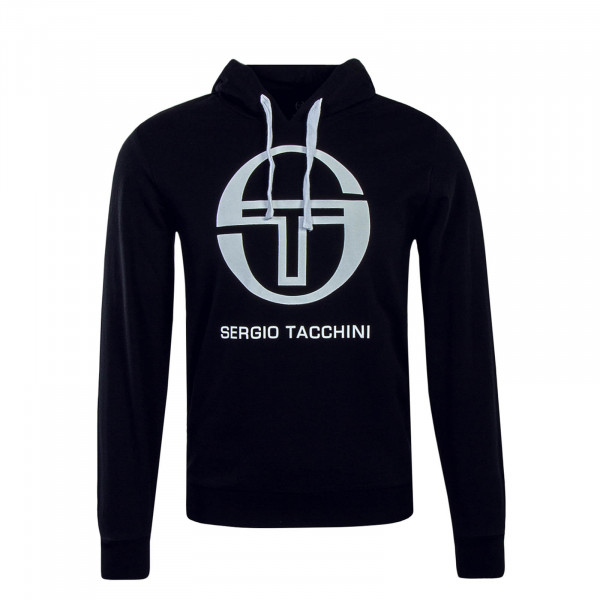 Sergio Tacchini Hoody Comma Black White