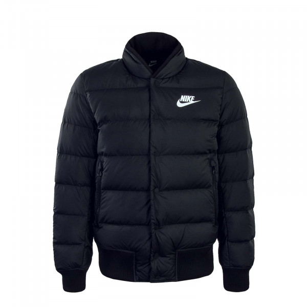 Nike Jkt NSW DWN FILL Bomber Black White